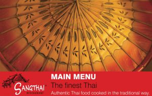 Thai food button for sangthai Thai restaurant menu