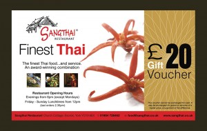 Thai massage at sangthai with button for massage page