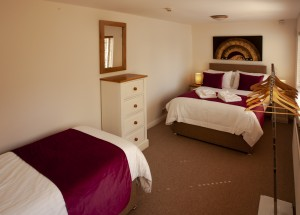 bedroom-Old-spa-rooms-at church-cottage